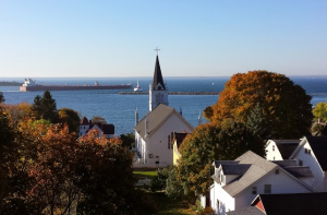 Mackinac Island church